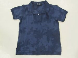09609e40 Details about New tag Ralph Lauren Boys Navy Blue SS Polo Sun Bleached  Shirt 18M 24M Big Pony