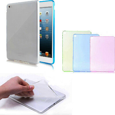 Thin Transparent TPU Back Case Cover Silicone For iPad Air 2 2nd Gen 6 Excellent