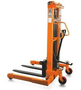 Manual Adjustable Leg Straddle Stackers - 2200 lbs. capacity Canada Preview