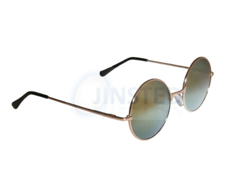 Red Cerchio da sole rotonda Mirrored Sp003 Lens cornice Teashade Occhiali Steampunk Sunnies qAXg8wW