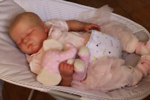 REALISTIC-TODDLER-DOLL-REBORN-8LBS-REALBORN-BABY-ELLIE-MAE-BY-MARIE-WITH-COA