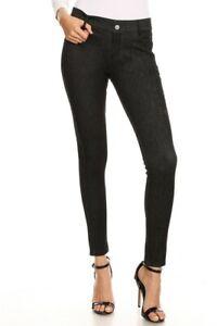 Women-039-s-Jeggings-Pants-Basic-Solid-Cotton-Stretchy-Skinny-Soft-Leggings-Denim-US