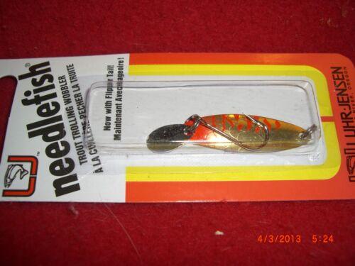 Luhr Jensen Needlefish Size 1 1051-001-0856 GOLD DIGGER