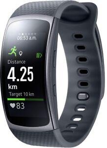 Samsung-Gear-FIT-2-SM-R3600-schwarz-Gr-S-4-GB-NEU-OVP-GARANTIE
