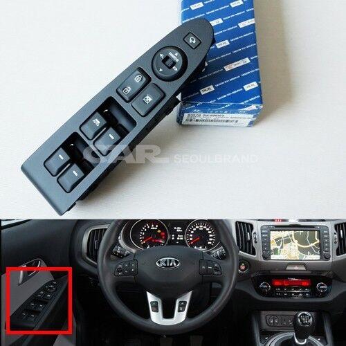 Sportage Power Window Switch Driver  Fr-Left Side 93570-3W400WK KIA 2011-2014