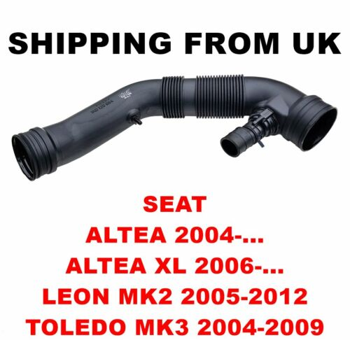 Filtro dell/'aria tubo di aspirazione tubo per SEAT ALTEA XL LEON TOLEDO MK2 MK3 1.6 75KW 102HP