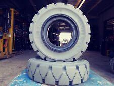 Globestar Forklift Tire 600x9 Grey Solid Pneumatic