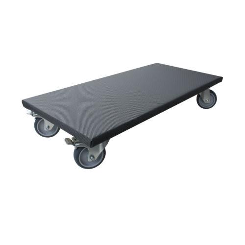 2x transport Roller 200 kg meubles Roller 300x600 de généralistes Roller gummirad