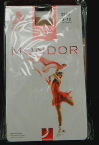 Mondor 3368 Over the Boot Tights Suntan Sz 10/12