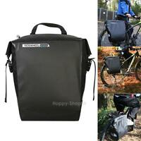 20l Cycling Bicycle Bike Rack Back Rear Seat Tail Carrier Trunk Pvc Pannier Bag on sale