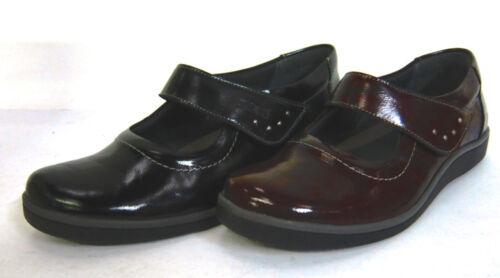 Suave Cuir Prix Super Couleurs Femmes 2 Burgundy Chaussures Noir amp; HCwqBdq