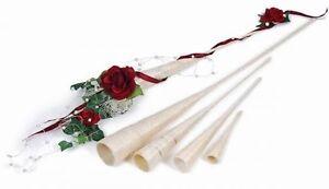 Spitzvase Aus Sisal 15 Cm 5 Stck Kirchen Deko Hochzeit Blumen