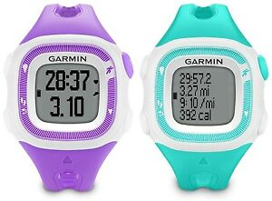 Garmin Forerunner 15 GPS Fitness Sport Watch Small Teal or Violet 010 01241 21 /2019078