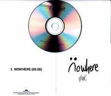 FREAK Nowhere 2016 UK 1-track promo test CD