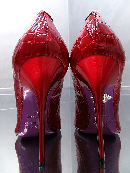 1969 Unique Farbe Best Leder MADE IN Pumps ITALY Sexy High Heels Pumps IN J28 Leder 43 17b064