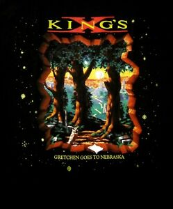 KINGS-X-cd-cvr-GRETCHEN-GOES-TO-NEBRASKA-Official-SHIRT-XL-may-the-groove-OOP