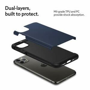 Case-iPhone-11-Pro-Dual-Layer-Protection-TPU-Hard-PC-Cover-Shockproof-Slim-Blue
