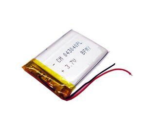 li polymer rechargeable battery 3 7v 500 mah li po 043040 for mp3 mp4 reader 737590401664 ebay. Black Bedroom Furniture Sets. Home Design Ideas