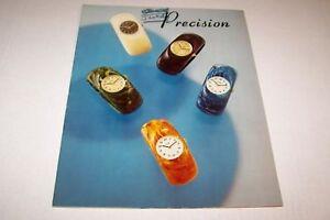 Vintage Jewelry Catalog #186 - 1974 PRESCISION WATCHES