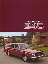 Volvo 200 Series 245 Estate 1976-77 Original UK Sales Brochure No RSP/PV 4045