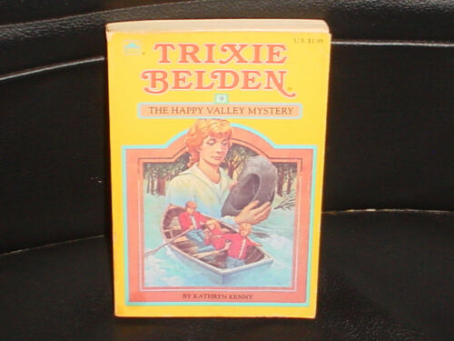 1 of 1 - TRIXIE BELDEN * NO 9 *THE HAPPY VALLEY MYSTERY * KATHRYN KENNY 1985 ( 1962 ).