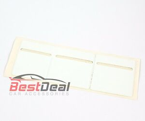 New-White-Windscreen-Tax-Insurance-NCT-Disc-Holder-for-Cars-Vans-Taxi-3-pocket