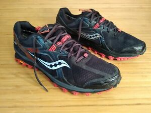 ae252fb50d Details about Saucony Gore Tex Xodus 5.0 Running Shoes Men's 14. Black Red.  Trail, All Terrain
