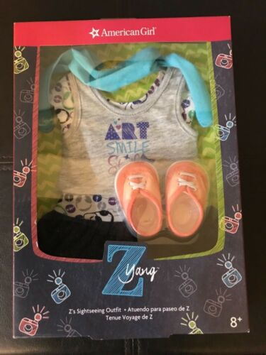 American Girl Doll Z Yang's Sightseeing Outfit Dress NEW! Z's