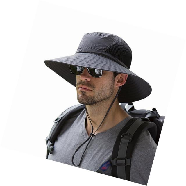1695cd1ed24 EINSKEY Mens Sun Hats UV Protection Unisex Summer Wide Brim Safari ...