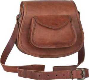 Stylish-Bag-Leather-Vintage-Shoulder-Purse-Handbag-Brown-Cross-Body-Satchel