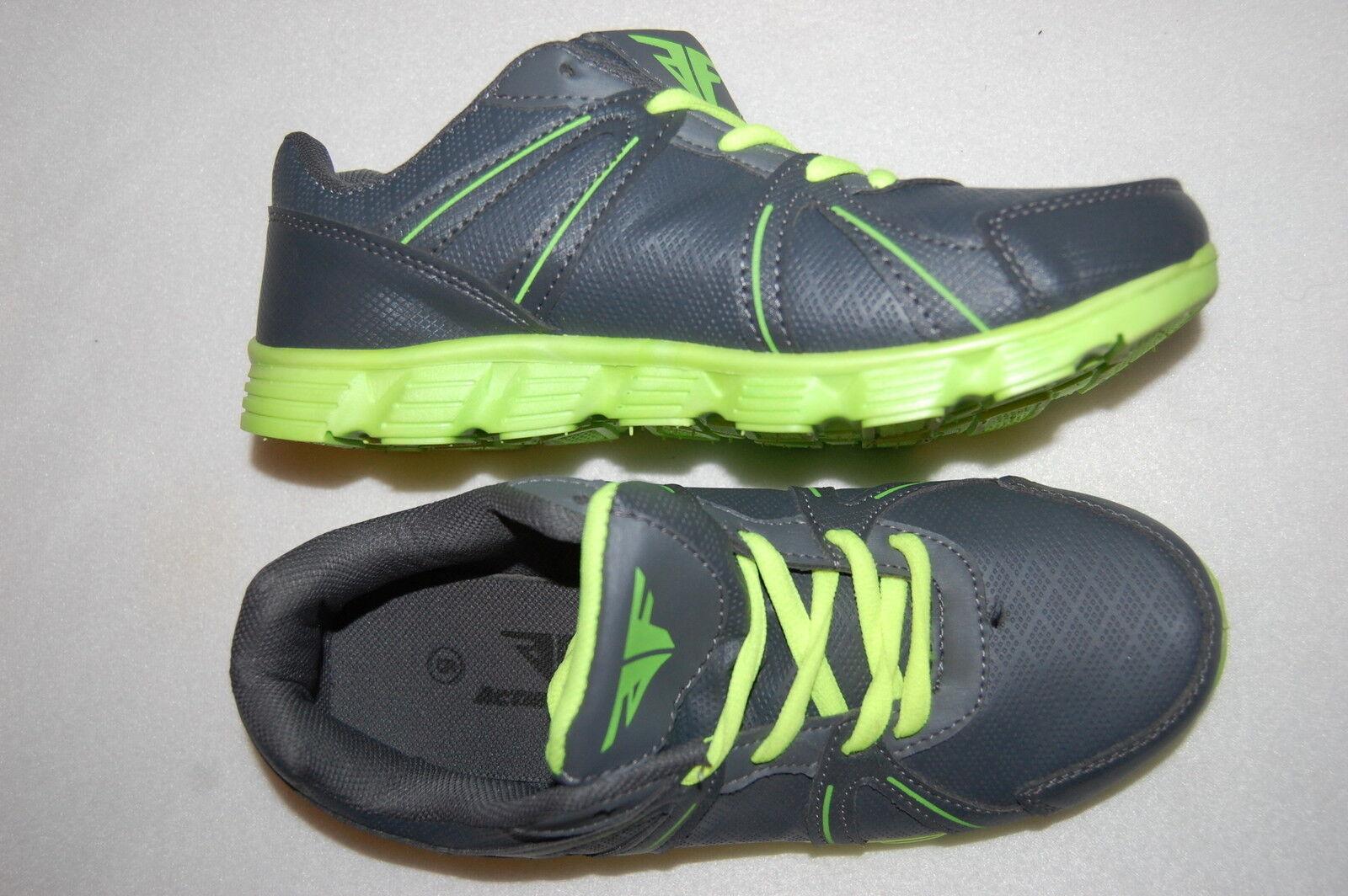 Womens Tennis Shoes GRAY \u0026 NEON LIME