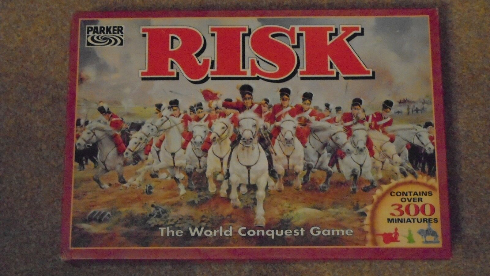 . Risk board game in very good condition 1996.   free post to UK