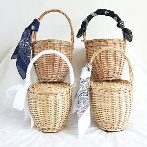 Straw Basket handmade straw basket