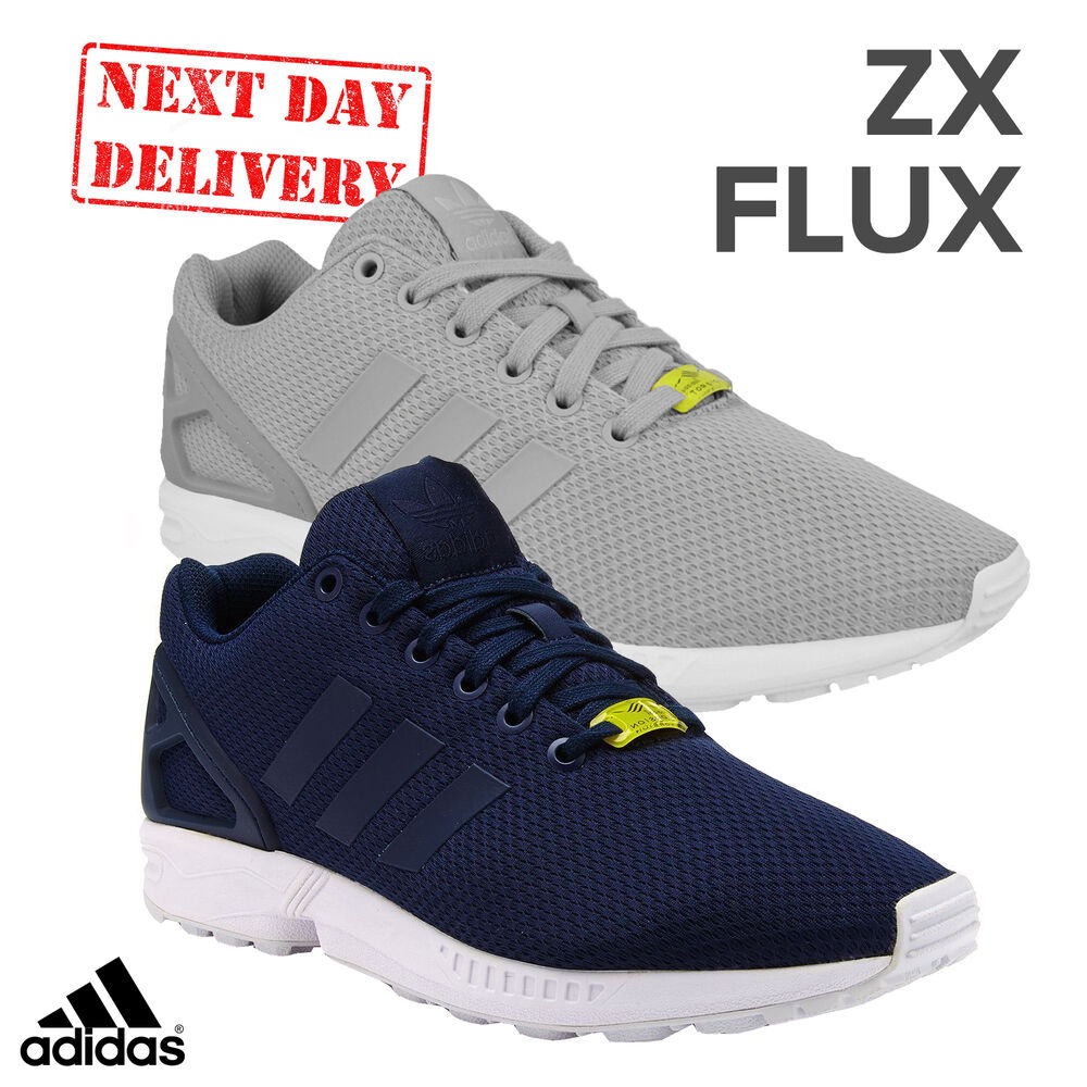 Adidas ZX Flux Homme Fashion Baskets Course Rétro Torsion Casual Chaussures Taille UK-