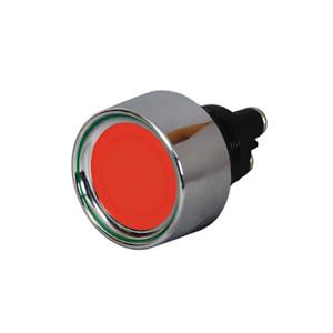 Durite 0-485-05 LED ROSSO PULSANTE ILLUMINATO Single Pole Switch 12 VOLT 20Amp