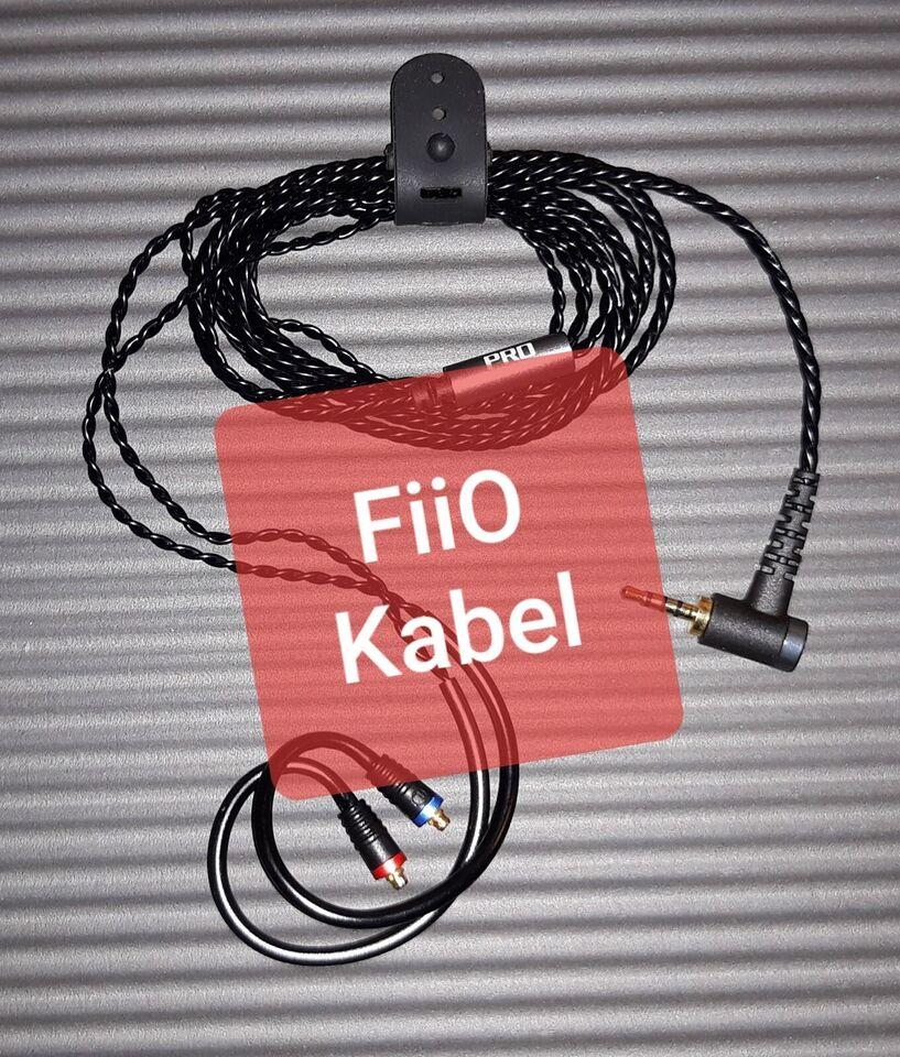 in-ear hovedtelefoner, Shure, FiiO Kabel