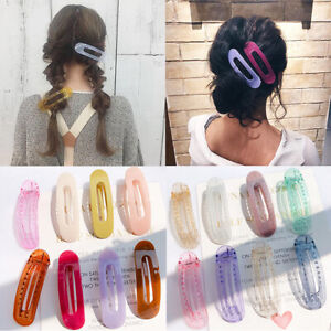 Girls-Women-Wild-Side-Duckbill-Clip-Hairpin-Candy-Color-Barrette-Accessories