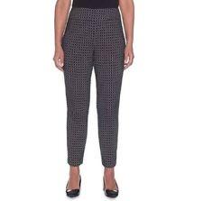 NWT Women's Alfred Dunner Dress Pants Hunter Green Sizes 10-18