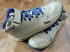 Details about NIKE Air Force 1 Mid 'Tuskegee' Airmen Military Pilots Black History Month Sz 10