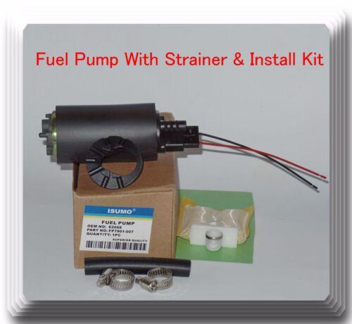Acura Chevrolet  Chrysler Dodge Eagle Ford Geo Honda Fuel Pump W// Strainer Fits