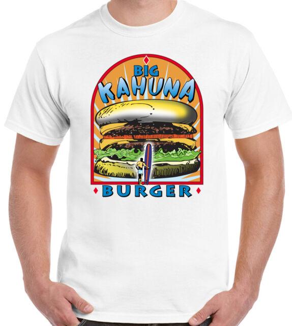 Big Kahuna Burger Mens Funny T-Shirt Pulp Fiction Movie Film