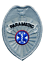 thumbnail 1 - Paramedic- Emergency Medical Service Badge Patch in Gold or Silver Color