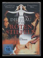 DVD DIE FRAU MIT DEN ROTEN STIEFELN - CATHERINE DENEUVE + FERNANDO REY ** NEU **