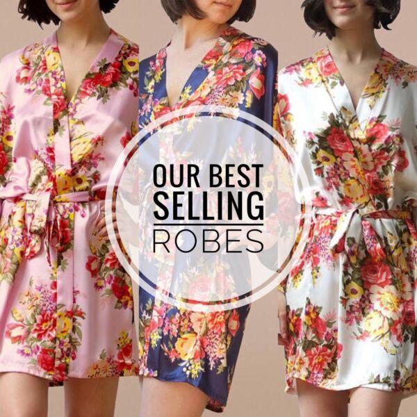 2019 Nuovo Stile Abiti Damigelle, Abiti Floreale Kimono