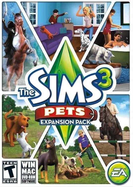 Sims 3, Sims 3 Pets, til pc