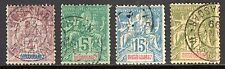 Diego Suarez - 1894 Definitives  - Mi. ex 38-50 FU