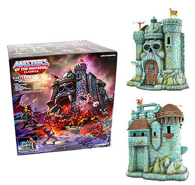 Masters of the Universe MOTU Classics He-Man Castle Grayskull Mattel Boxed HUGE