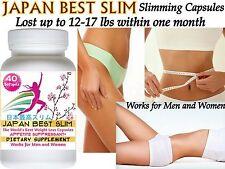 100% Authentic Diet Pills! JAPAN BEST Slimming Capsules