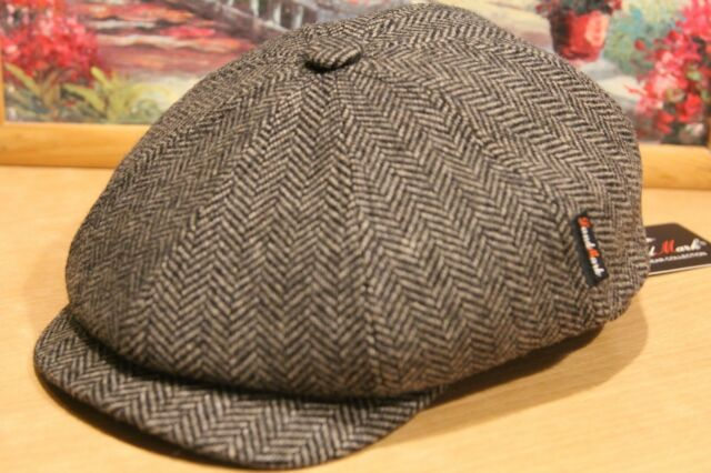 New newsboy Russian wool kepka 8 panel hat Italian wool Gatsby Made Russia cap