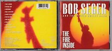 Bob Seger & the Silver Bullet Band - The Fire Inside (CD, Aug-1991) CDP 7911342